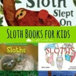 Silly and Educational Books for Kids about Sloths