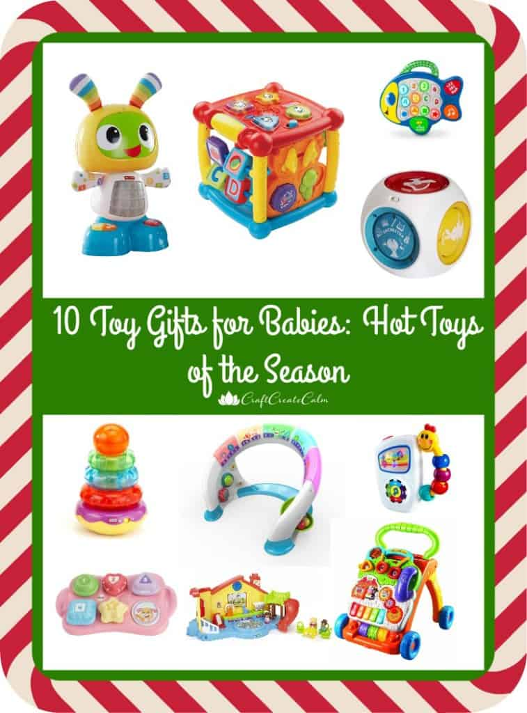 Gifts for babies and toddlers.