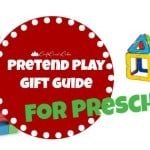 Gift Ideas for Preschoolers: Pretend Play
