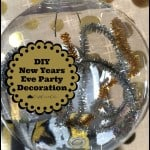 Easy DIY New Year's Eve Party Decorations