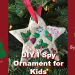 Kids I Spy Christmas Ornament Craft