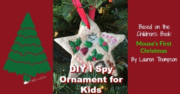 kids i spy ornament