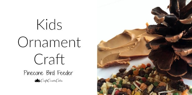 Kids Ornament Craft: Bird Feeder for Kids to Make