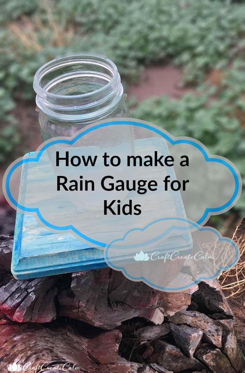 how to make a rain gauge