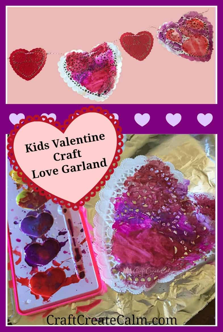 Valentine 39 s day preschool craft and link up the moments for Valentine day at home