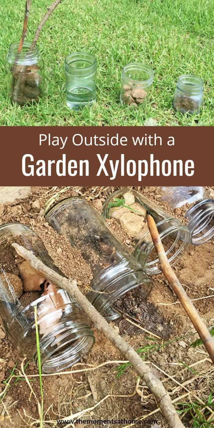 Garden Xylophone for Kids Outdoor Activity-CraftCreateCalm