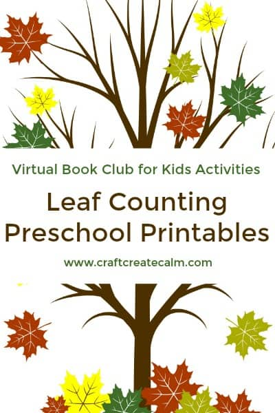 Counting Leaves Printables For Preschoolers The Moments At Home