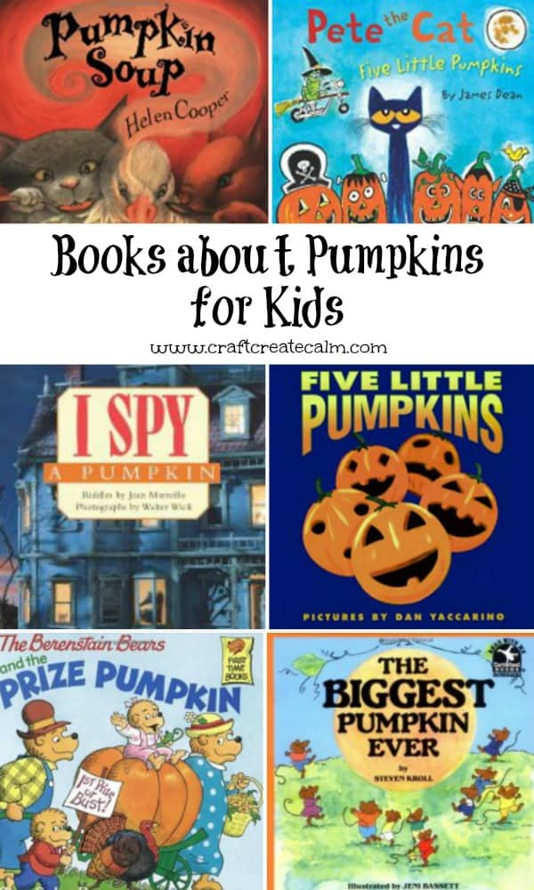 Books about pumpkins for kids. These are so fun for the fall season and leading up to Halloween!