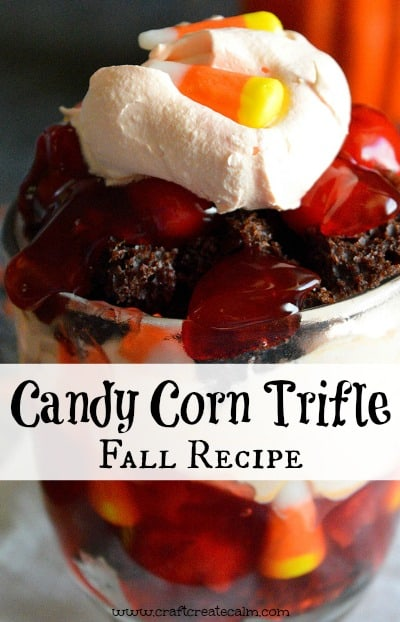 Halloween Candy Corn Trifle Fall Recipe