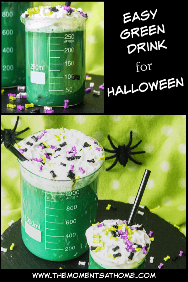 Green drink for Halloween