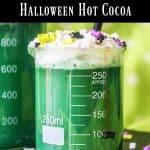 Green Hot Cocoa Halloween Drink