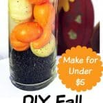 Easy DIY Thanksgiving Centerpiece for Fall