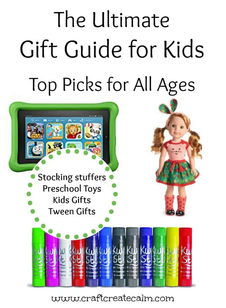 The ultimate gift guide for kids, gift guide for babies, preschoolers kids and tweens. Gift guide top ticks 2016