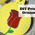 DIY Princess Ornament for Kids