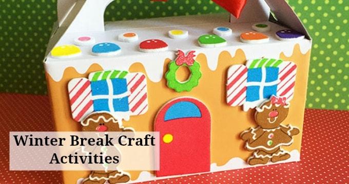 Winter Break Boredom Buster DIY Craft Kit