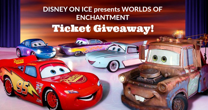 Disney On Ice Worlds of Enchantment Giveaway!