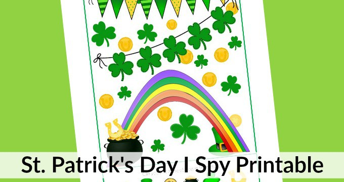 I Spy St. Patrick's Day Printable for Kids