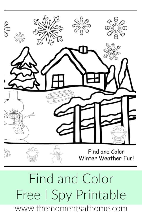 free winter weather i spy printable the moments at home. Black Bedroom Furniture Sets. Home Design Ideas