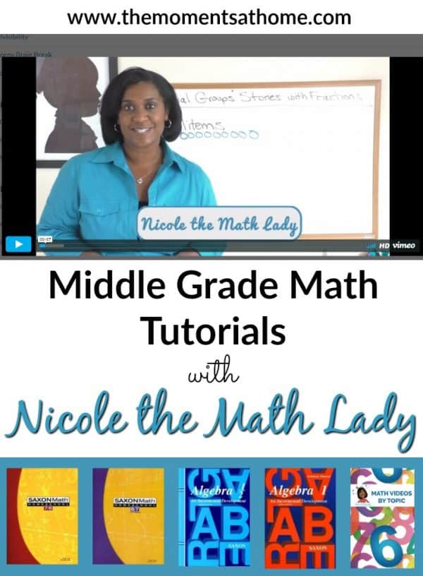 Math video lessons from Nicole the Math Lady.