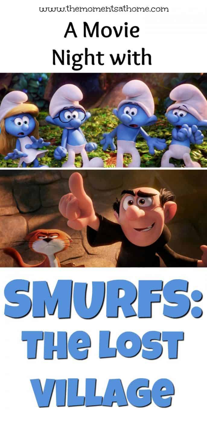 Smurfs: The Lost Village movie night review. The Smurfs Movie.