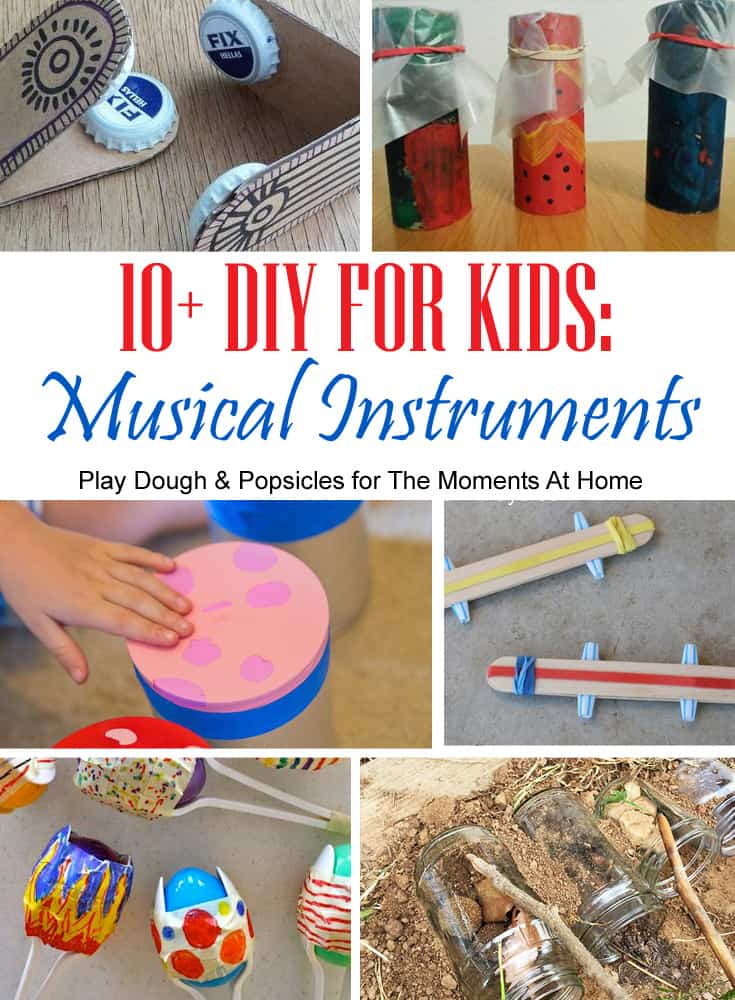 10 Super Fun Diy Musical Instruments To Make With Kids