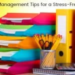 Family Management Tips for a Low Stress Week