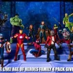 MARVEL Universe LIVE! Age of Heroes Giveaway