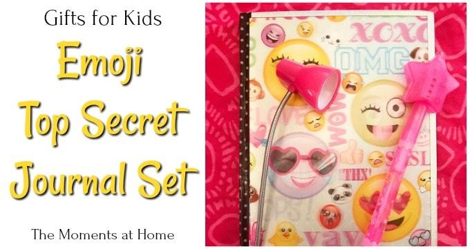 Emoji Top Secret Journal Set for Kids