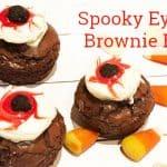 Spooky Eyeball Brownies Halloween Treat
