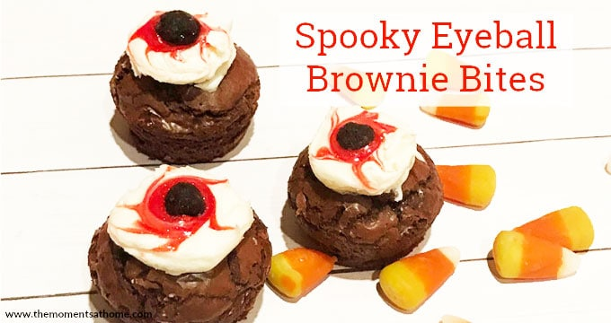 Spooky Eyeball Brownies Halloween Treat