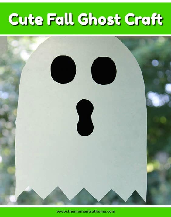 Cute ghost craft for kids.