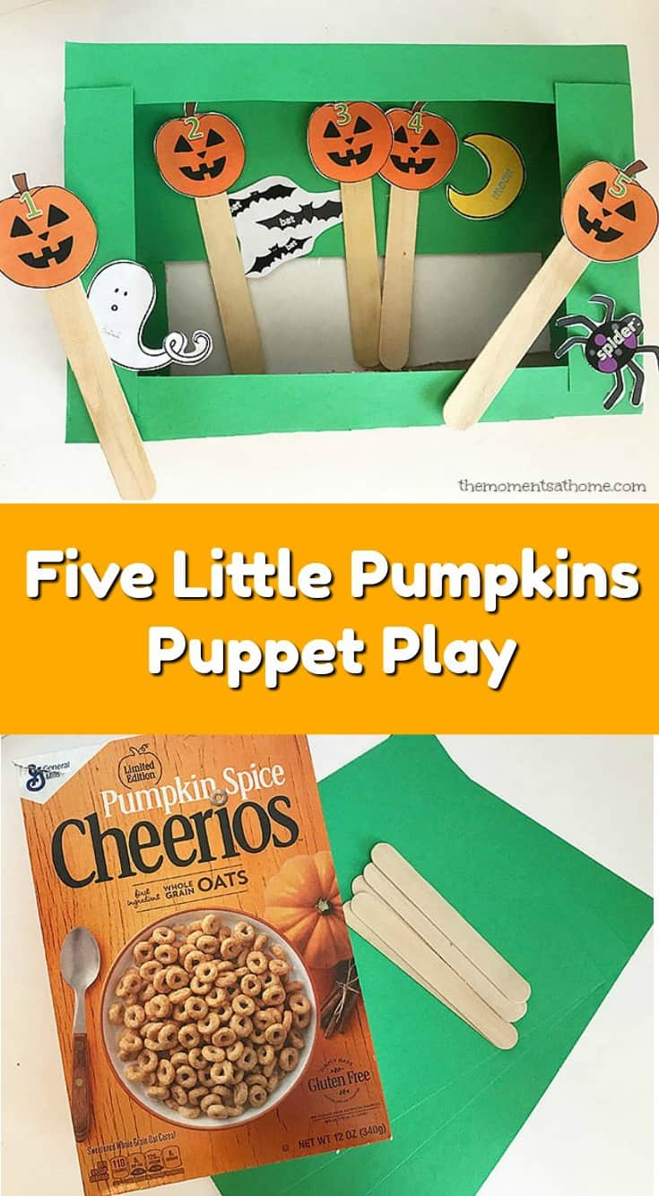 photo relating to 5 Little Pumpkins Printable called 5 Minor Pumpkins Puppet Craft Do-it-yourself Puppets - The Occasions