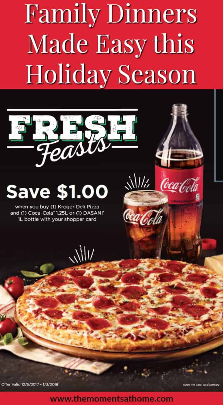 #ad Weekday dinner solutions from Kroger. Easy family meal deal with this pizza deal from Kroger. #krogerpizzdeal