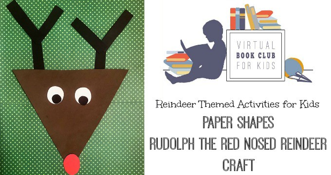 Rudolph the Red Nosed Reindeer crafts for kids