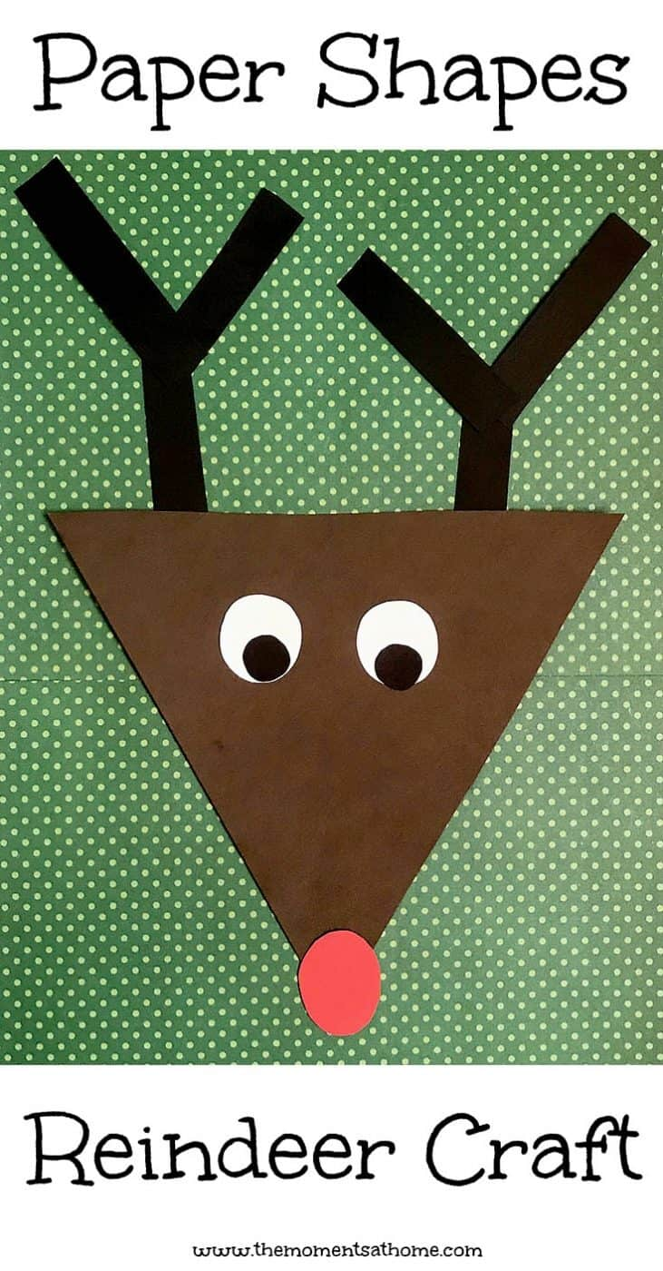 Rudolph the Red Nosed Reindeer Crafts and Activities - The Moments ...