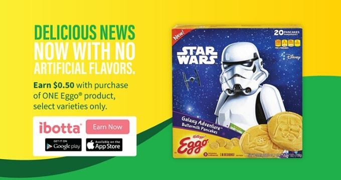 New Kellogg's® Eggo® Star Wars Galaxy Adventure™ Buttermilk Pancakes