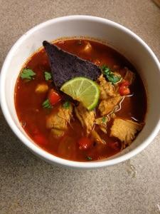 Texas Chicken Tortilla Soup