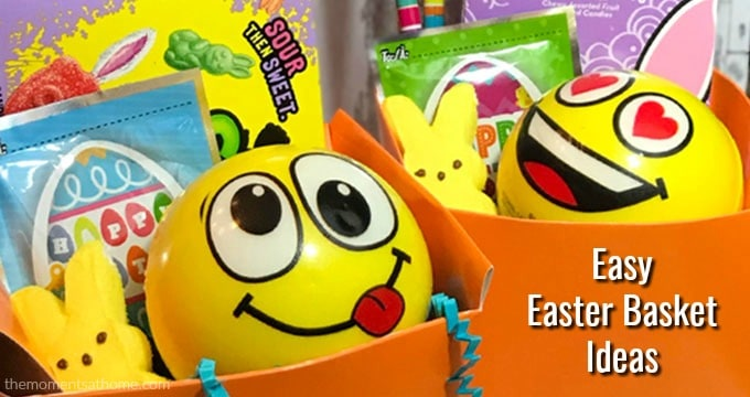 Easy Easter basket ideas.