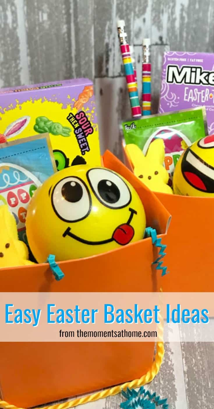 Find easy Easter basket ideas for kids. Easter basket fillers, and budget friendly gift ideas. #easterbaskets