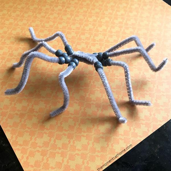 spider craft forkids