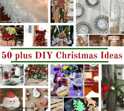 50 DIY Christmas Crafts and DIY Decorations