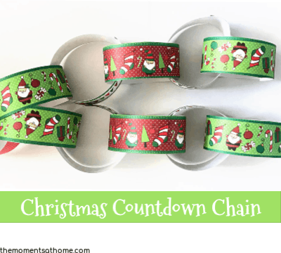 Countdown to Christmas Paper Chain Craft
