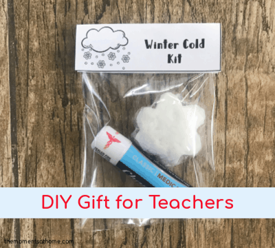 DIY Teacher's Gift with Printable Gift Tags