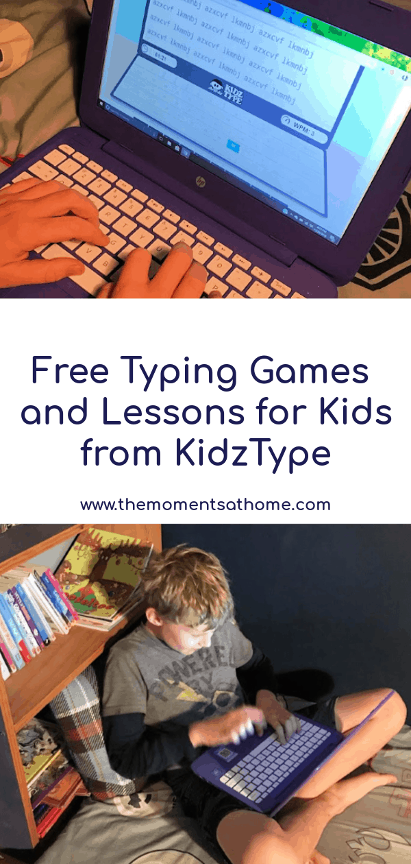 #ad Free typing games for kids from KidzType. #homeschoolingresources