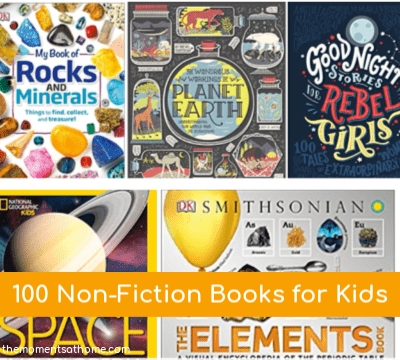 100 Non-fiction books for kids.