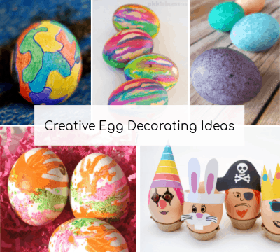 creative egg decorating ideas