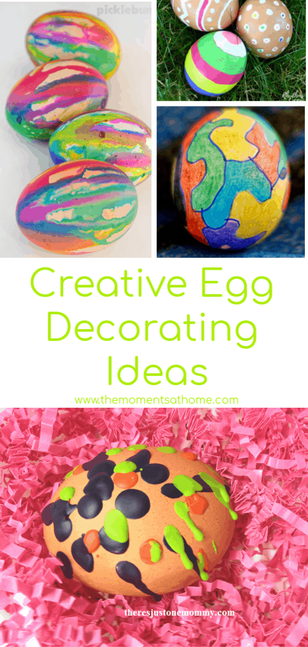 Creative Easter egg decorating ideas. #easter