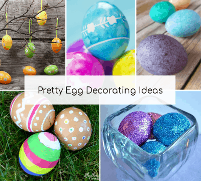 Pretty Easter egg decorating ideas.