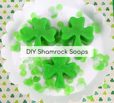 Easy Shamrock Homemade Soap Recipe For Kids