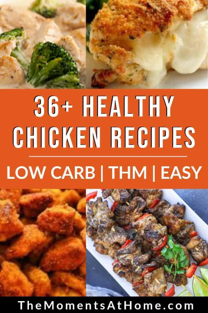 36+ healthy chicken recipes